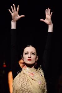 Böröcz Petra - flamenco táncos