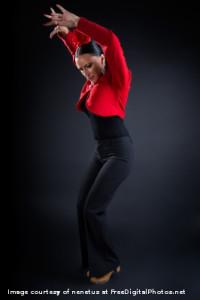 flamenco tánc kemény izommunka