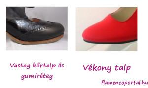 jó flamenco cipő talpa