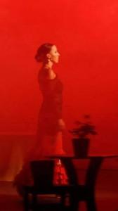 Inhof Katalin - flamenco táncos