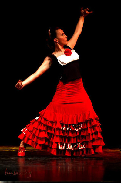 Inhof Katalin - La Kati flamenco táncos