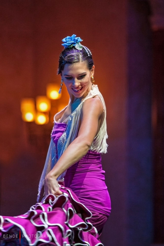 Pirók Zsófia flamenco táncos