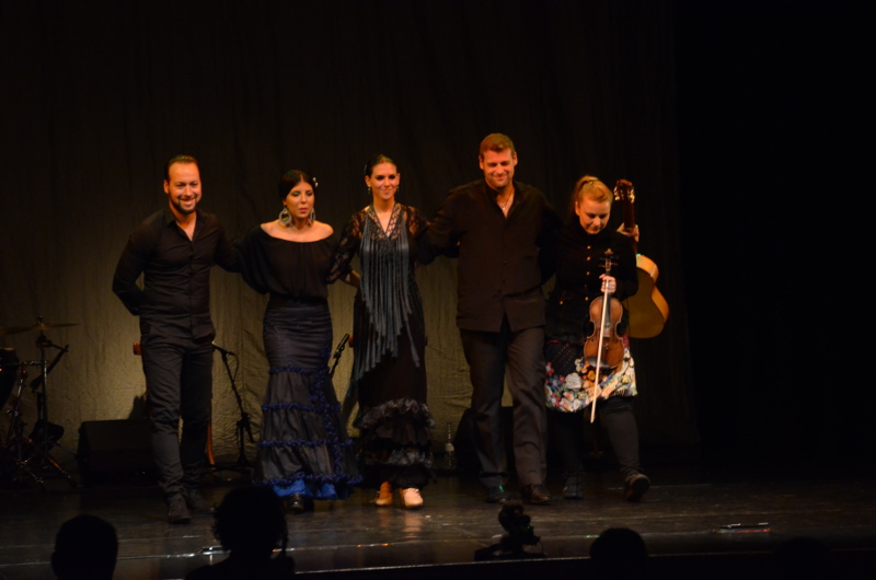 Sóhajok flamenco előadás