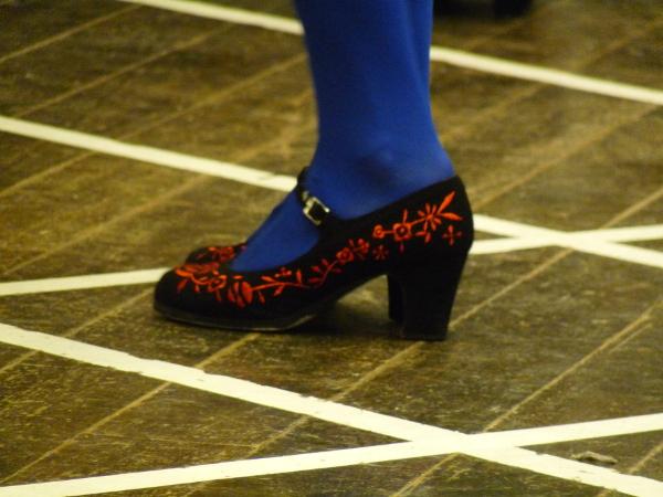 flamenco cipő