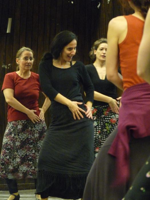 mercedes ruiz flamenco kurzus, Budapest 2015 november