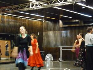 Mercedes Ruiz flamenco kurzus Budapest