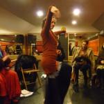 flamenco workshop, böröcz Petra
