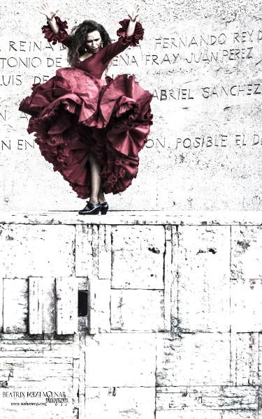 Irene La Sentio flamenco