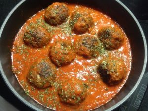 albondigas - spanyol étel