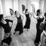 Flamenco tanfolyamok Böröcz Petrával 2018 január