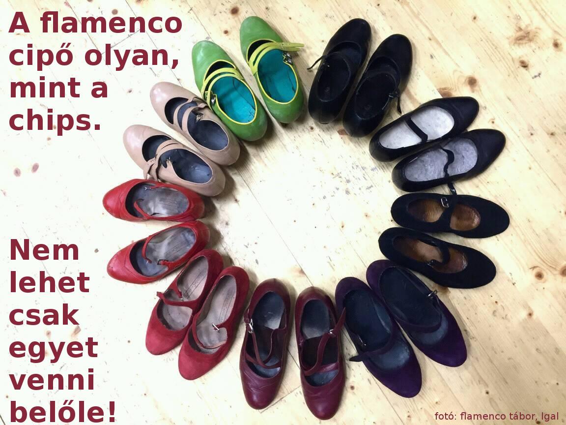 flamencco cipők