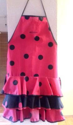 flamenco ruha kötény