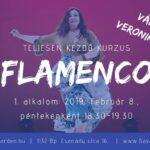 flamenco tanfolyam Vámos Veronikával