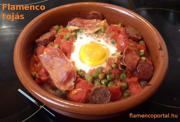 flamenco tojás