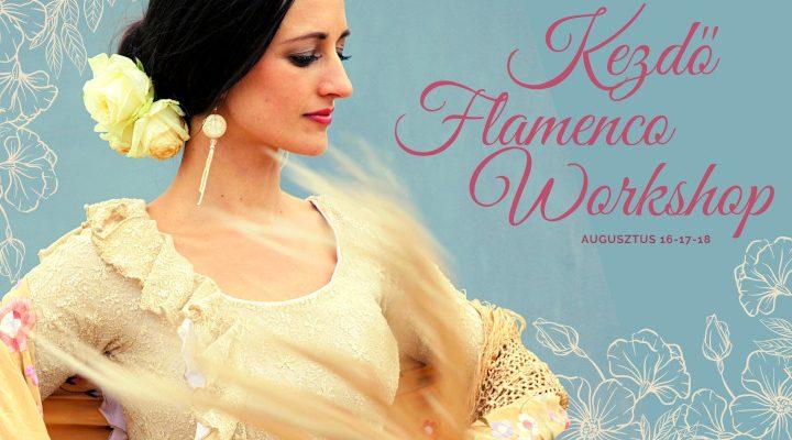 kezdő flamenco workshop Böröcz Petra