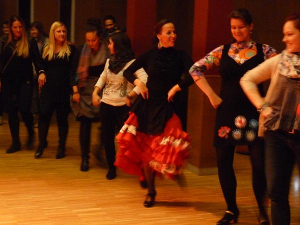 la kati cuadro flamenco táncház