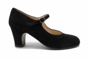 női flamenco cipő
