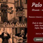 Palo Seco flamenco koncert – jún. 30.