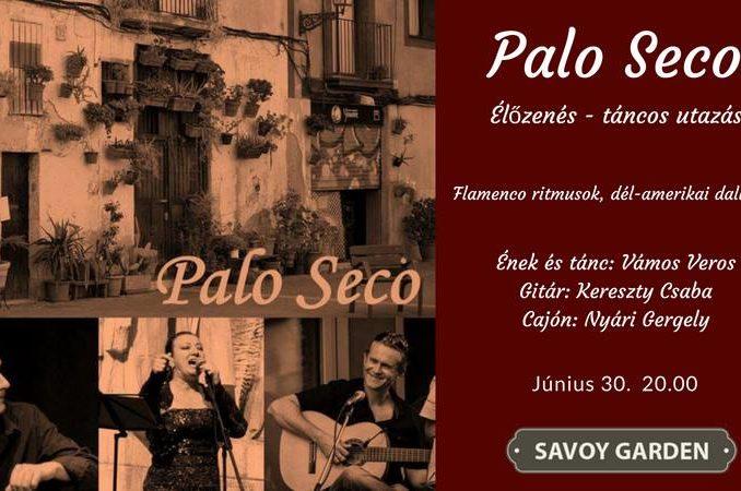 Palo Seco flamenco koncert