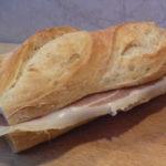 serrano sonkás szendvics