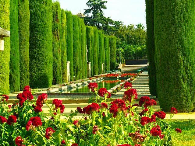 spanyol kert Cordoba
