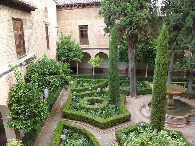spanyol kertek - Alhambra