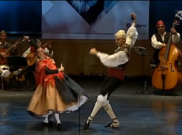 spanyol tánc