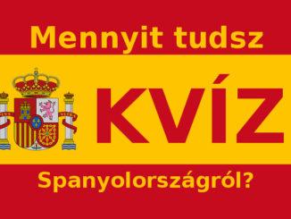 Spanyolország kvíz