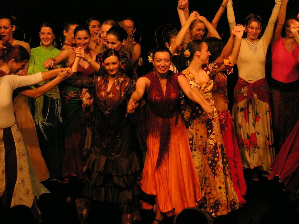 Vámos Veronika és Molnár Beatrix flamenco