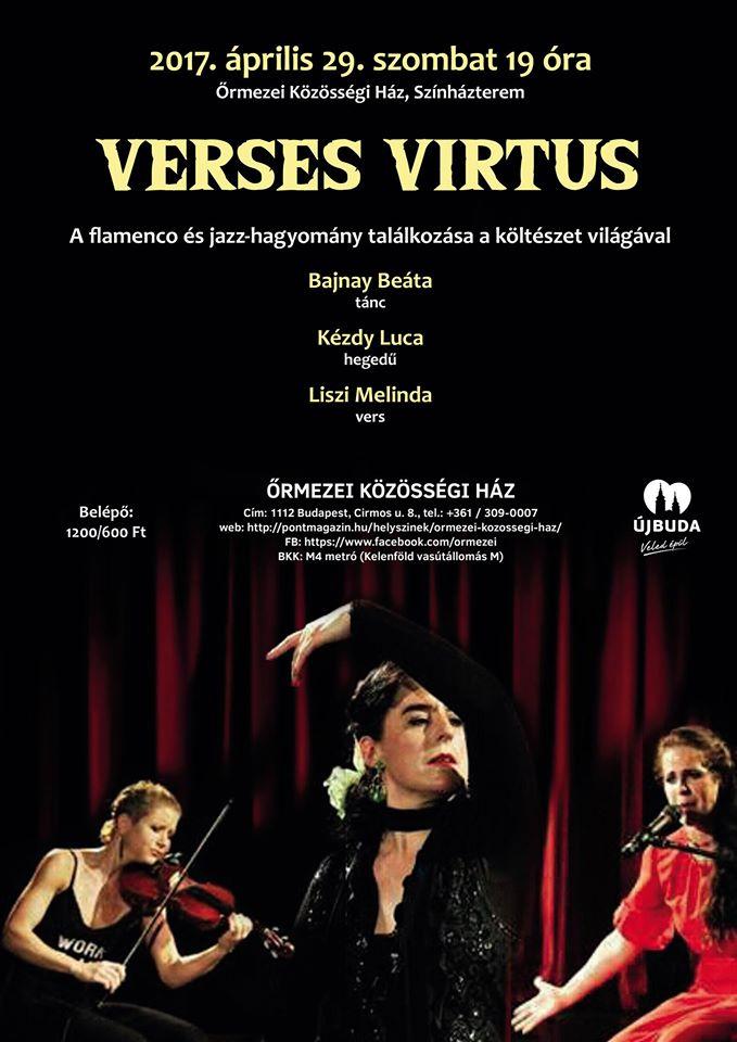 verses vírtus, flamenco est