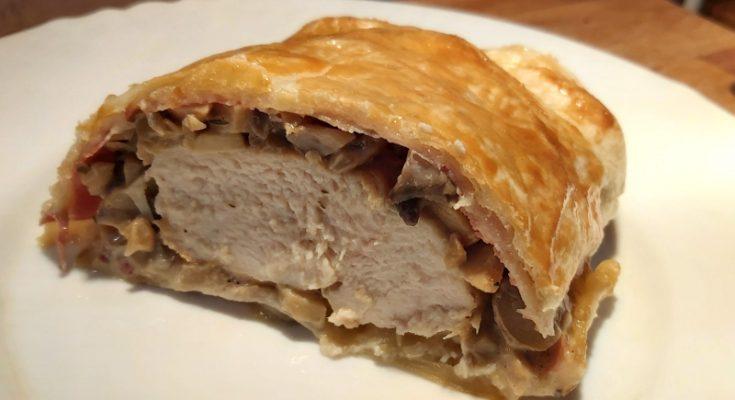 wellington csirkemell serrano sonkával